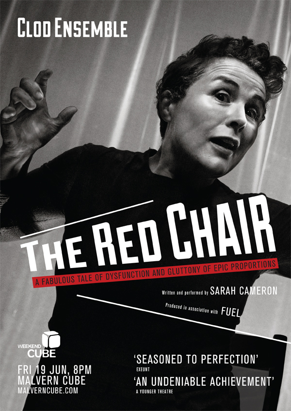 RedChair A4 poster